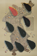 Prints & Multiples, Kim Tschang-Yuel (Korean/French, b. 1929). Water Drops. from The Official Arts Portfolio of the XXIVth Olympiad, Seoul, Ko...