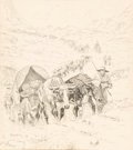 Fine Art - Painting, American, Robert Farrington Elwell (American, 1874-1962). Group of SixIllustrations. Ink on paper. 23-1/2 x 20-3/4 inches (59.7 x...(Total: 6 Items)
