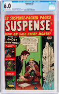 Golden Age (1938-1955):Horror, Suspense #21 (Atlas, 1952) CGC FN 6.0 Off-white to white pages....