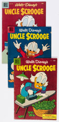 Silver Age (1956-1969):Cartoon Character, Uncle Scrooge Group of 10 (Gold Key, 1955-65) Condition: AverageVG-.... (Total: 10 Comic Books)