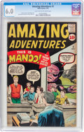 Silver Age (1956-1969):Horror, Amazing Adventures #2 (Marvel, 1961) CGC Apparent FN 6.0 Light tanto off-white pages....