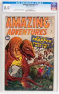Silver Age (1956-1969):Horror, Amazing Adventures #3 (Marvel, 1961) CGC VF 8.0 Off-white to whitepages....