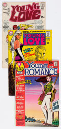 Silver Age (1956-1969):Romance, Young Love/Young Romance Group of 3 (Various Publishers, 1968-71)Condition: Average FN.... (Total: 3 Comic Books)