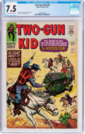 Silver Age (1956-1969):Western, Two-Gun Kid #81 (Marvel, 1966) CGC VF- 7.5 Cream to off-white pages....