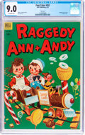 Golden Age (1938-1955):Humor, Four Color #452 Raggedy Ann & Andy - File Copy (Dell, 1953) CGC VF/NM 9.0 Off-white pages....