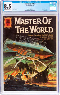 Four Color #1157 Master of the World - File Copy (Dell, 1961) CGC VF+ 8.5 Off-white to white pages