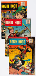 Silver Age (1956-1969):Adventure, Robin Hood Tales Group of 5 (Quality, 1956).... (Total: 5 Comic Books)