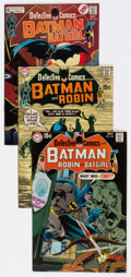 Bronze Age (1970-1979):Superhero, Detective Comics Group of 19 (DC, 1970-72) Condition: Average VFexcept as noted.... (Total: 19 Comic Books)