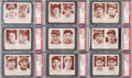 Baseball Cards:Singles (1940-1949), 1941 Double Play Baseball PSA NM-MT Collection (9).