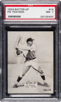 Baseball Cards:Singles (1930-1939), 1934-36 Batter-Up Pie Traynor #14 PSA NM 7. ...