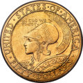 Commemorative Gold, 1915-S $50 Panama-Pacific 50 Dollar Round MS64+ PCGS. CAC....