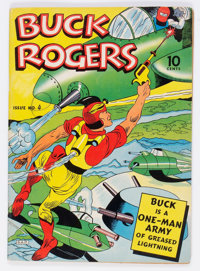 Buck Rogers #4 (Eastern Color, 1942) Condition: VG+
