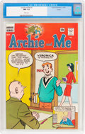 Silver Age (1956-1969):Humor, Archie and Me #1 Curator Pedigree (Archie, 1964) CGC NM- 9.2 White pages....