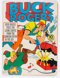 Golden Age (1938-1955):Science Fiction, Buck Rogers #3 (Eastern Color, 1941) Condition: FR/GD....