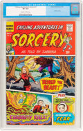 Bronze Age (1970-1979):Horror, Chilling Adventures in Sorcery #1 (Archie, 1972) CGC VF+ 8.5 Off-white to white pages....