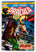 Bronze Age (1970-1979):Horror, Tomb of Dracula #10 (Marvel, 1973) Condition: VG/FN....