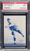 Baseball Cards:Singles (1930-1939), 1934-36 Batter-Up Lefty Grove #31 PSA NM 7. ...