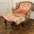 Furniture , A Four-Piece Louis XV-Style Upholstered Furniture Suite, 19th century and later. 35 h x 29 w x 24 d inches (88.9 x 73.7 x 61... (Total: 4 Items)