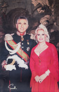 Other, Wallace Seawell (American, 1916-2007). Portrait of Zsa Zsa Gabor and Husband, Frédéric Prinz von Anhalt. Color photograp...