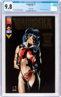 Modern Age (1980-Present):Horror, Vampirella #1 Gold Foil Edition (Harris, 1997) CGC NM/MT 9.8 White pages....