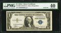 Small Size:Silver Certificates, Serial Number 99999999 Fr. 1608 $1 1935A Silver Certificate. PMG Extremely Fine 40.. ...