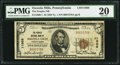 National Bank Notes:Pennsylvania, Osceola Mills, PA - $5 1929 Ty. 1 The Peoples NB Ch. # 11966. ...