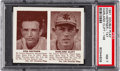 Baseball Cards:Singles (1940-1949), 1941 Double Play Heffner/Clift #147/148 PSA NM 7 - Only One Higher. ...