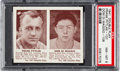 Baseball Cards:Singles (1940-1949), 1941 Double Play Pytlak/DiMaggio #107/108 PSA NM-MT 8 - Only One Higher. ...