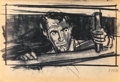 "Movie/TV Memorabilia:Documents, A Cary Grant-Related Group of Storyboards from the Alfred Hitchcock Film ""North by Northwest.""..."