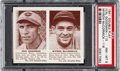 Baseball Cards:Singles (1940-1949), 1941 Double Play Goodman/McCormick #115/116 PSA NM-MT 8 - Only OneHigher. ...