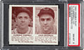 Baseball Cards:Singles (1940-1949), 1941 Double Play Campbell/Boudreau #131/132 PSA NM-MT 8. ...