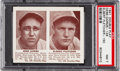 Baseball Cards:Singles (1940-1949), 1941 Double Play Garms/Fletcher #149/150 PSA NM 7 - Only OneHigher. ...