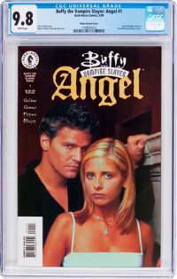Buffy the Vampire Slayer: Angel #1 Photo Variant Cover (Dark Horse, 1999) CGC NM/MT 9.8 White pages