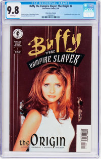 Buffy the Vampire Slayer: The Origin #2 Photo Cover Variant (Dark Horse, 1999) CGC NM/MT 9.8 White pages