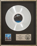 Music Memorabilia:Awards, The Jacksons Victory RIAA...