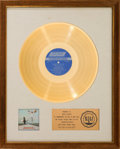 Music Memorabilia:Awards, Rolling Stones Get Yer Ya-Ya's Out! RIAA White Matte Gold Record Award Presented to Mick Jagger (London NPS-5, 197...
