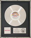 Music Memorabilia:Awards, KISS Double Platinum Platinum Album Sales Award (Casablanca NBLP 7100-2, 1978)....