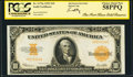 Large Size:Gold Certificates, Fr. 1173a $10 1922 Gold Certificate PCGS Choice About New 58PPQ.. ...