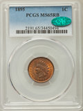 Indian Cents: , 1895 1C MS65 Red and Brown PCGS. CAC. PCGS Population: (53/3). NGC Census: (85/10). CDN: $300 Whsle. Bid for problem-free N...