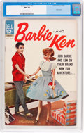 Silver Age (1956-1969):Romance, Barbie and Ken #3 (Dell, 1963) CGC NM- 9.2 Cream to off-whitepages....