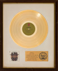 Music Memorabilia:Awards, Billy Paul 360 Degrees of Billy Paul RIAA White Matte Gold Sales Award (Philadelphia International KZ 31793, 1972)...