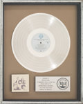 Music Memorabilia:Awards, Doobie Brothers Minute By Minute RIAA Platinum RecordAward....