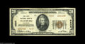 National Bank Notes:Colorado, Julesburg, CO - $20 1929 Ty. 2 The First NB Ch. # 8205 One of onlythree Type 2 twenties reported to date, and as nice ...