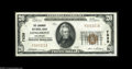 National Bank Notes:Colorado, Longmont, CO - $20 1929 Ty. 1 The Longmont NB Ch. # 7839 A highgrade example from this much in demand location. Bright...