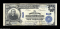 National Bank Notes:Colorado, Loveland, CO - $10 1902 Plain Back Fr. 625 The Loveland NB Ch. #8116 A nice Fine+++ with the bottom margin ever so...