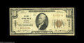 National Bank Notes:Colorado, Otis, CO - $10 1929 Ty. 1 The First NB Ch. # 10852 An extremelyscarce note from the sole bank to issue in this NE Colo...
