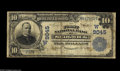 National Bank Notes:Colorado, Sedgwick, CO - $10 1902 Date Back Fr. 618 The First NB Ch. #(W)9045 A just plain rare bank in large size, with the new...