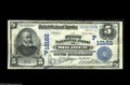 Soldier, ID - $5 1902 Date Back Fr. 594 The First NB Ch. # (P)10162 A simply incredible note which was recently discove...