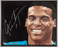 Autographs:Others, Cam Newton Signed Print.. ...