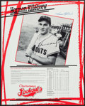 Autographs:Photos, Harmon Killebrew Chattanooga Lookouts Signed Poster.. ...